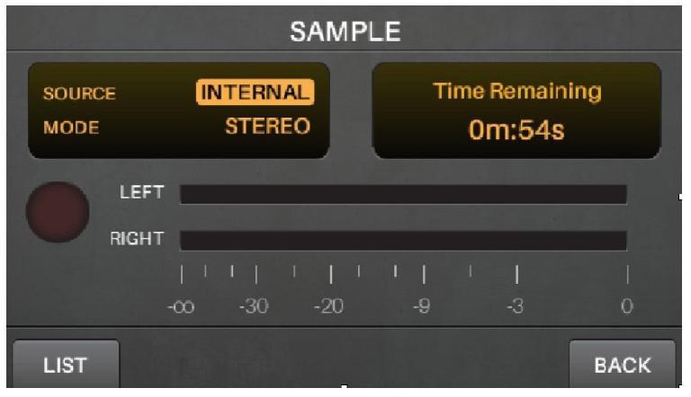 sample mode