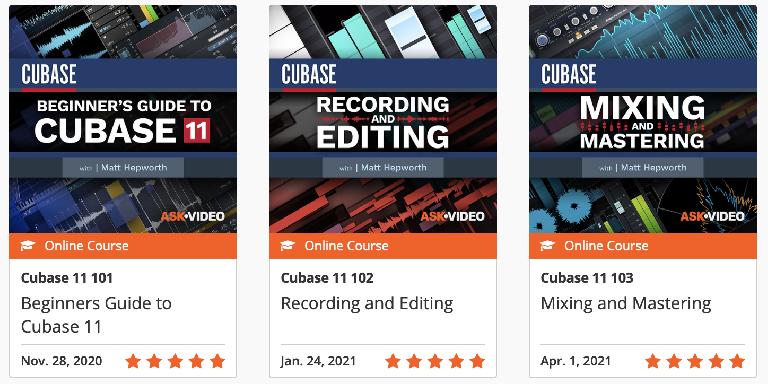 Ask.Video Cubase Courses