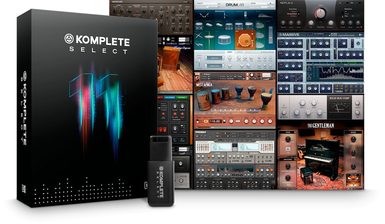 Komplete 11 Select is an economical way to get into the Komplete ecosystem.