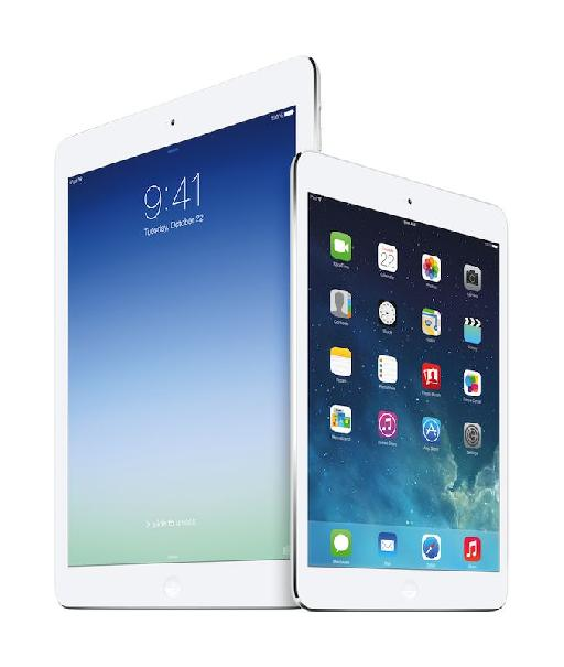 iPad Air and iPad Mini Retina