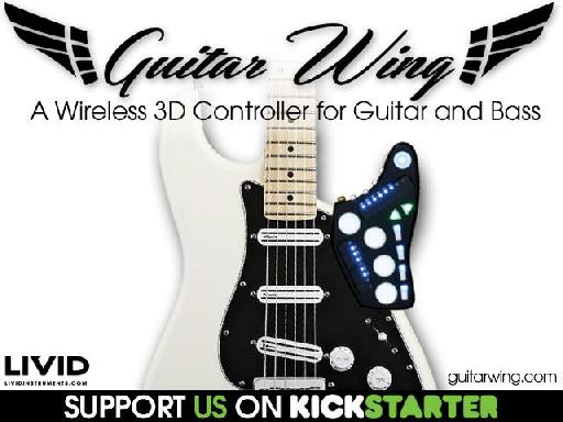 Livid Instruments Guitar Wing Kickstarter.
