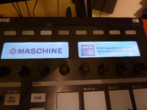 Maschine is ready to be transformed into a MIDI controller