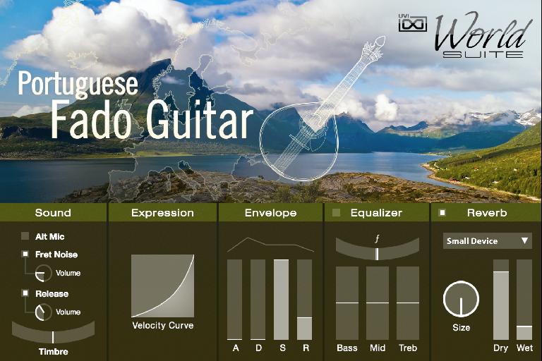 UVI World Suite 2 - Portuguese Fado Guitar