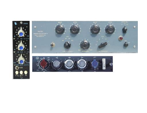 Fig 6) Some high-end EQs.