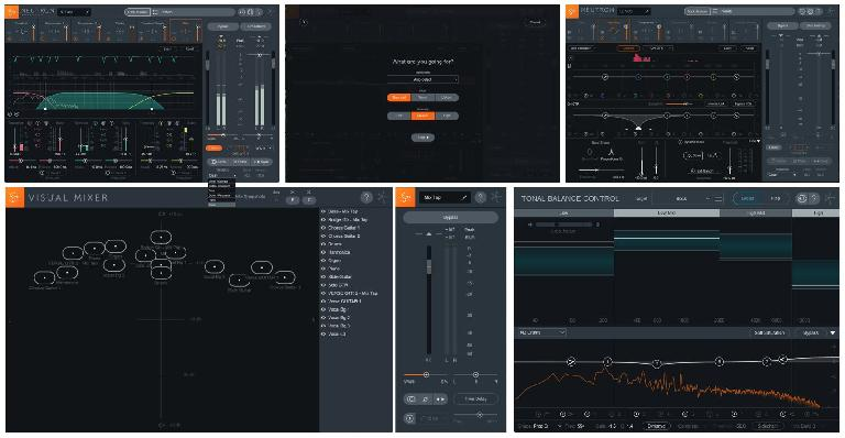 Neutron 2 and its included plug-ins