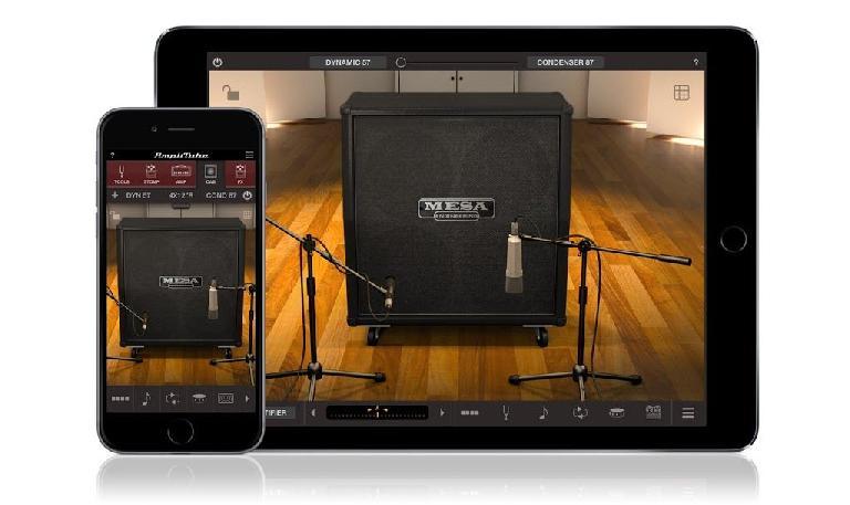 Cabinet Room in IK Multimedia Mesa Boogie Amps app