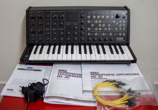The contents of the MS-20 box.