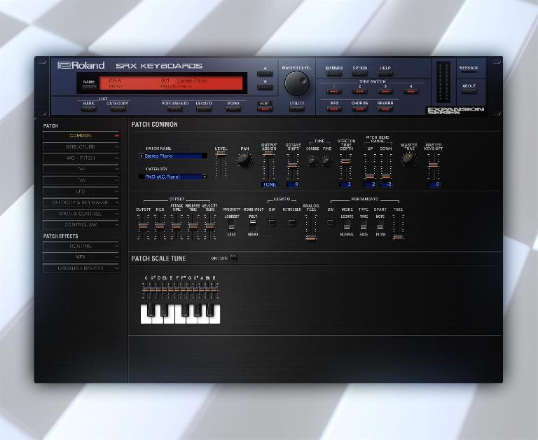 Roland Cloud SRX Keyboards plugin