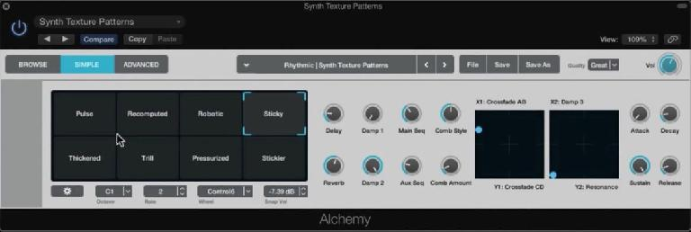 The new Alchemy synth in Logic Pro X 10.2 packs quite a punch!
