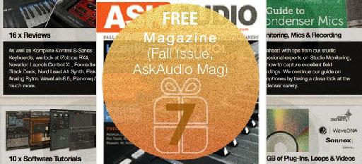 Free issue of AskAudio Magazine.