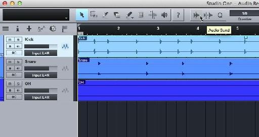 Audio Bend Icon