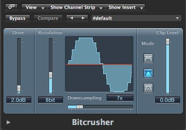 Bitcrusher.