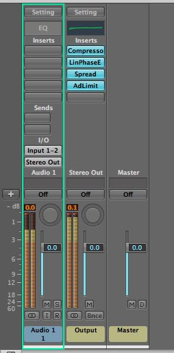 The final mastering chain