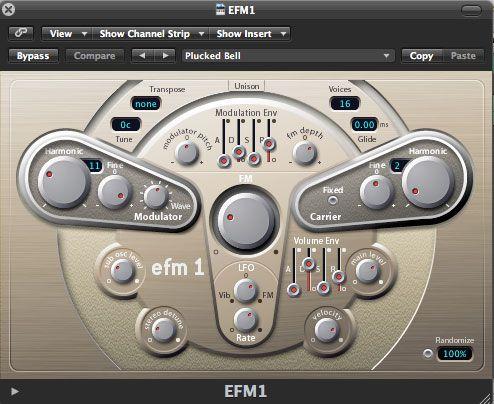 EFM1 settings