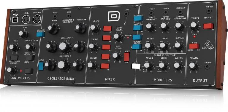 Behringer D is a planned clone of the Minimoog Model D.