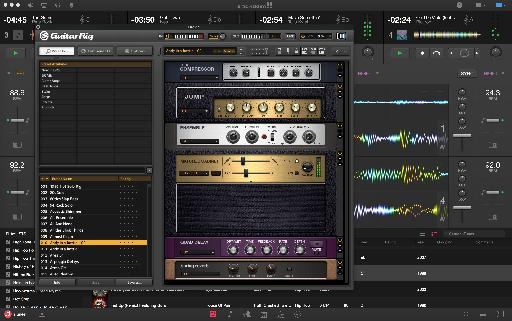 Yes, you can load any AU plug-in into a deck!