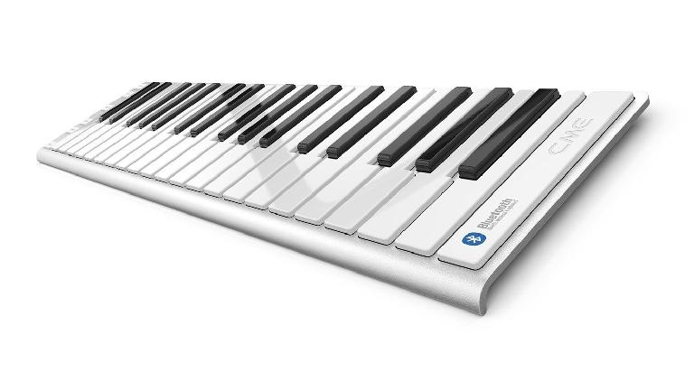CME XKey Air portable bluetooth MIDI keyboard controller.