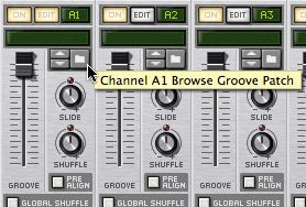 Browse Patch button in Regroove