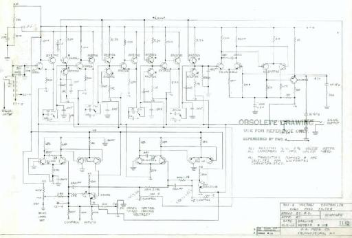 Bob Moog schematic.