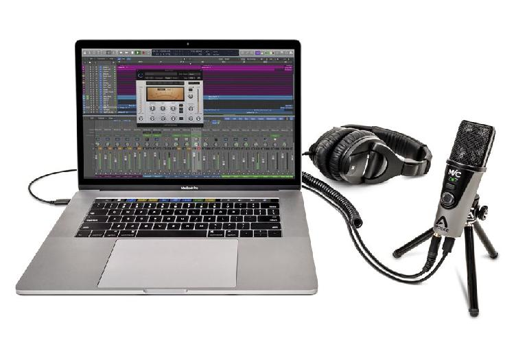 Apogee Mic Plus with Logic Pro X
