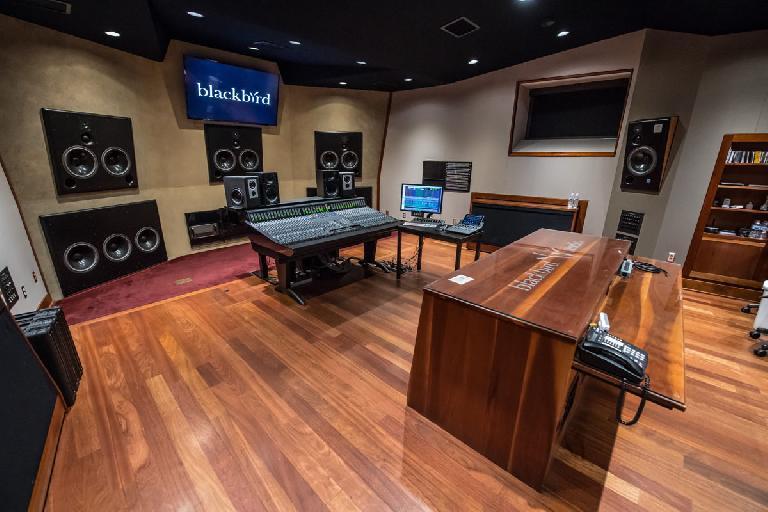 SSL Origin in Nashville recording studio