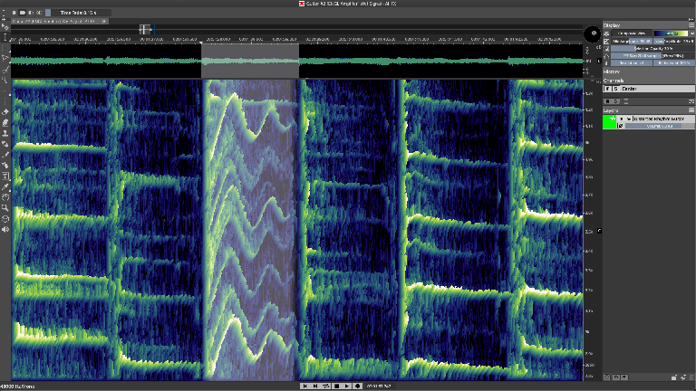 Editing in Spectral Layer