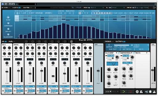 Get ultimate control over how modulation is applied to synth parameters using up to four graphs.