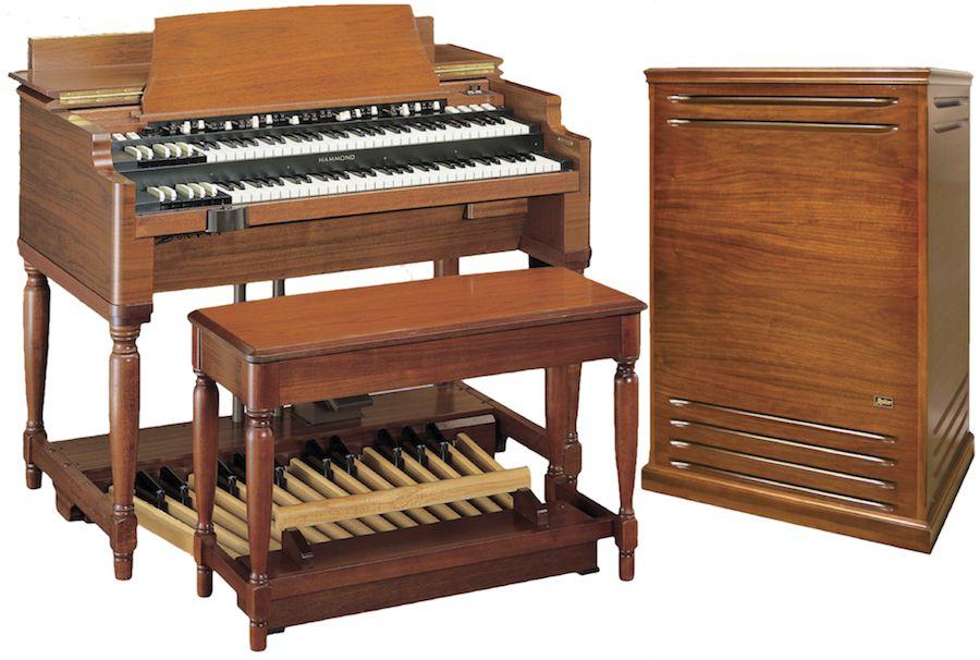 Real Hammond organ & Leslie cabinet