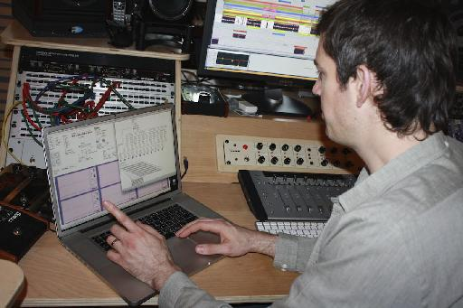 He's a bit of a genius with Max/MSP!