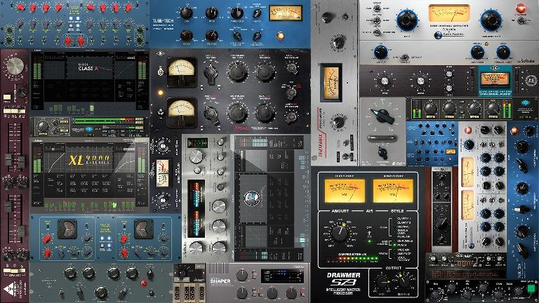 Some of the Console I MKII ready plug-ins...