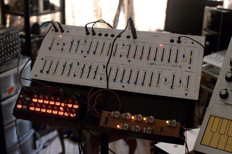 MacBeth M7-D experimental synthesizer.