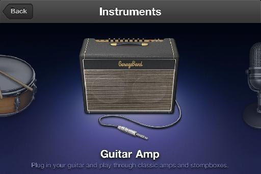 Select an instrument