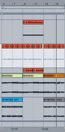 white noise chorus
