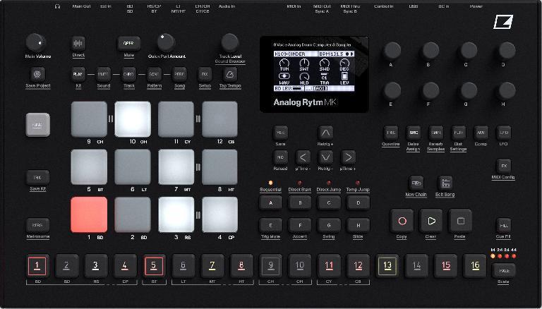 Analog RYTM MKII redesign