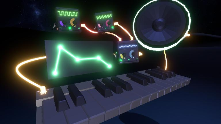 A virtual reality synthesizer you can build yourself.