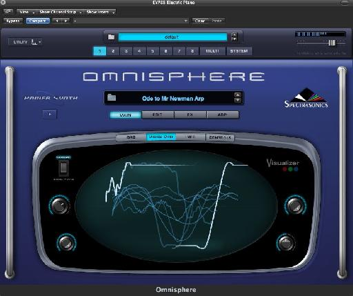 Omnisphere Visualizer