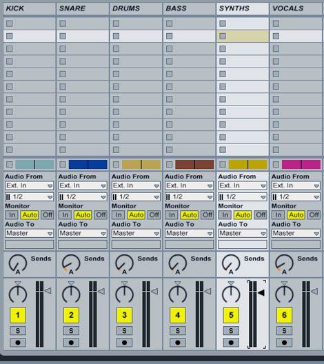 The audio stems