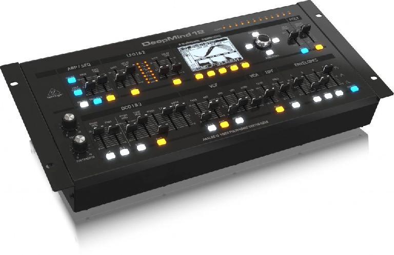 Behringer DeepMind12 12 voice polyphonic analog synthesizer rack-mount