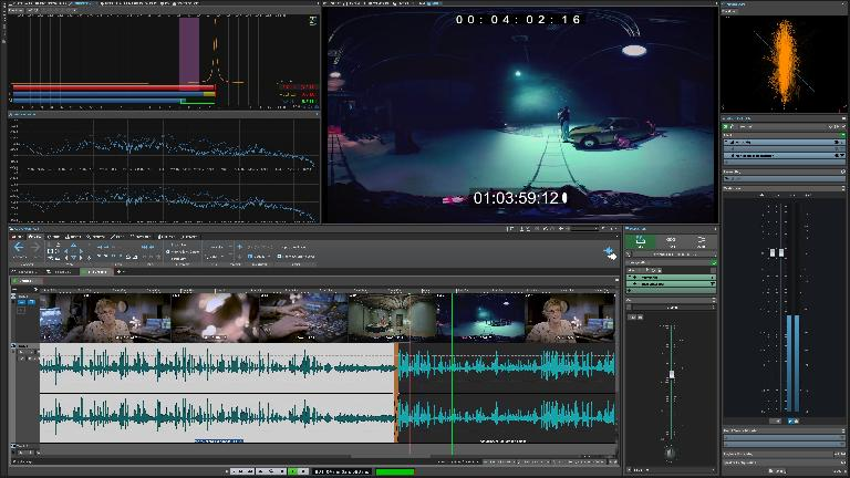 The Video track is one of the big new features in WaveLab 10.