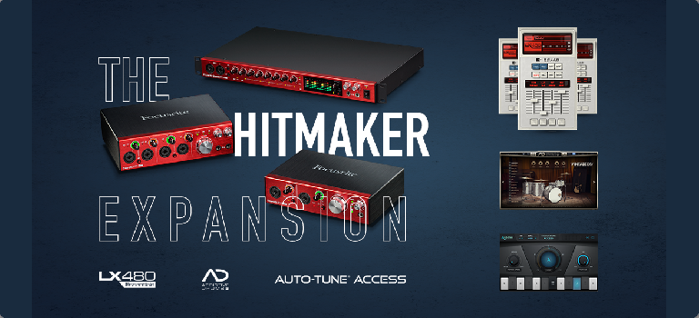 The Focusrite Hitmaker Expansion