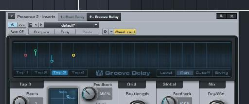 Pic 6: Groove Delay Tabs