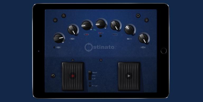 Ostinator on iPad