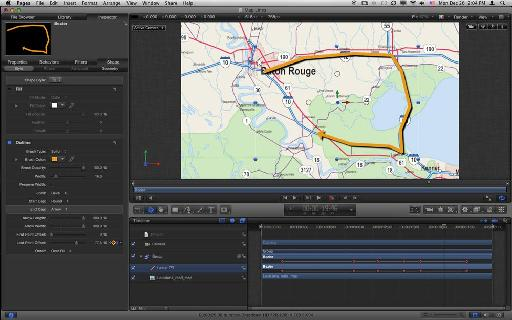Animating the line