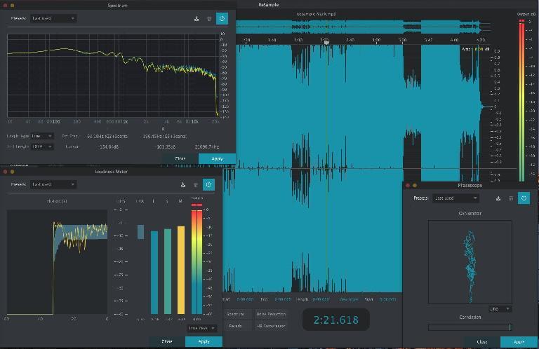 The 2nd Sense Audio ReSample GUI.