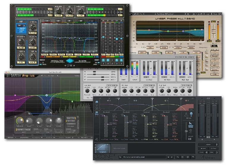 Fig 3 A few Multiband compressors designed for mastering applications.