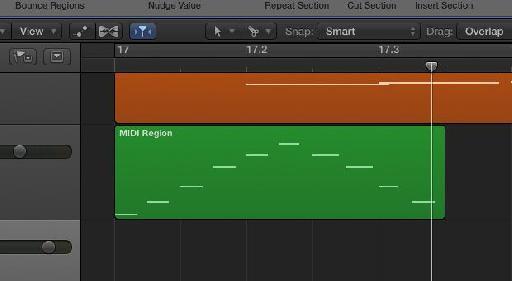 Capture MIDI Region