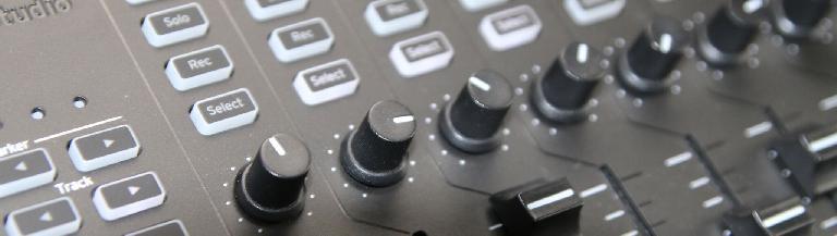 Korg nanoKontrol Studio rotary knobs