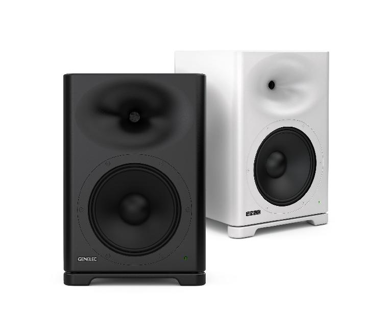 Genelec S360 active monitors.