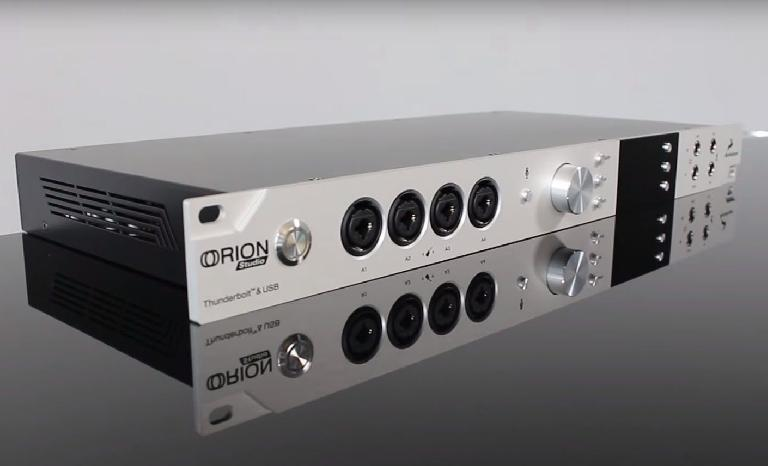 Antelope Audio Orion Studio is a thunderbolt and USB audio interface.