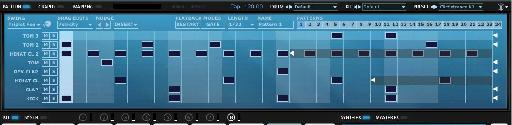 The Polyrhythmic sequencer makes it easy to create interesting, non-standard patterns.